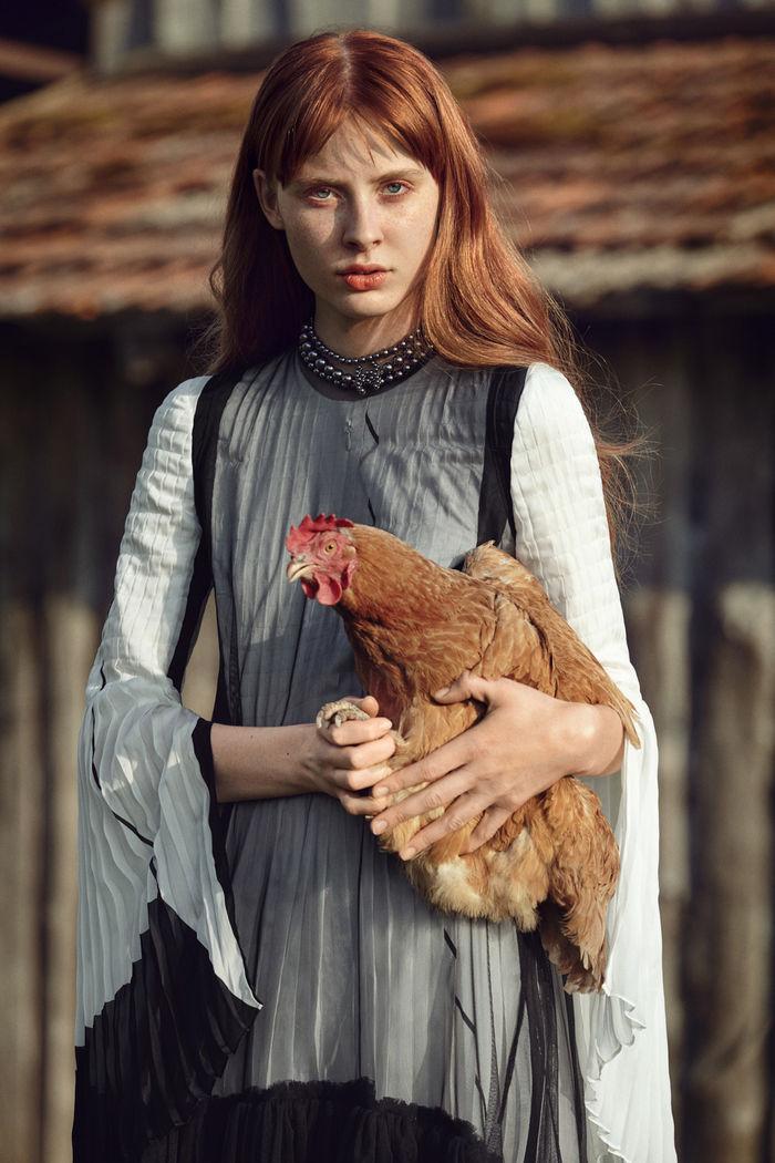 Verena Heller-Ghanbar c/o AVENGER PHOTOGRAPHERS for L`Officiel