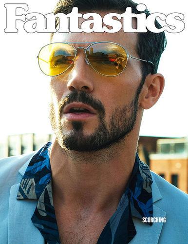 Adam Cowie for Fantastics Magazine shot by Malc Stone