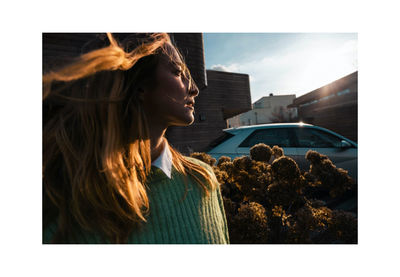 NINA KLEIN, Hair & Make up Patricia Heck for Hunday by Dave Hill