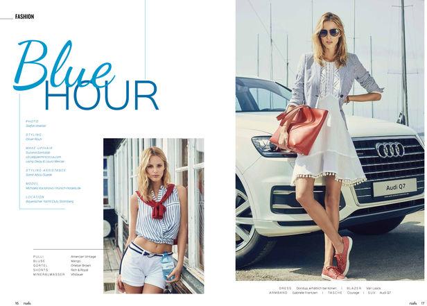 SUZANA SANTALAB for Rush Magazine