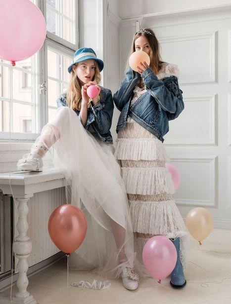 Elisabeth TOLL & Lisa LINDQWISTER for ELLE Sweden