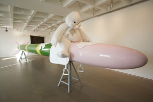 Cosima von Bonin, MISSY MISDEMEANOUR (THE VOMITING WHITE CHICK, RILEY [LOOP # 5],  MVO'S VOODOO BEAT & MVO'S ROCKET BLAST BEAT), 2010