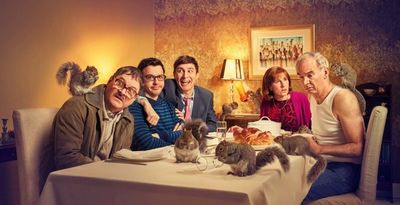 Dan BURN-FORTI c/o MAKING PICTURES shot Channel 4's latest campaign stills for the new season of Friday Night Dinners!