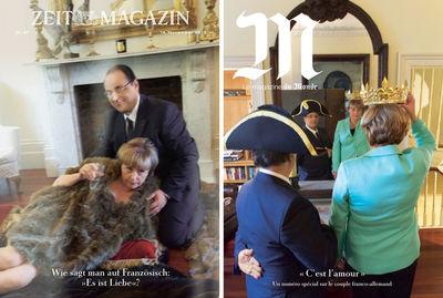 """ADC Winner 2014 : ZEITmagazin """"Wie sagt man auf Französisch: 'Es ist Liebe'?"""""""