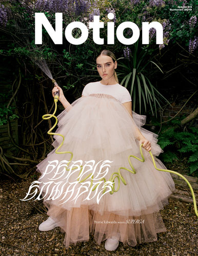 Perrie Edwards for Notion Magazine by Rosaline Shahnavaz