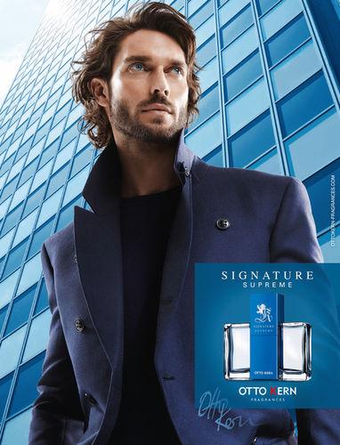 Otto Kern Fragrance Kampagne