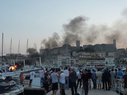 CANNES 2011 : Festival de Cannes ... after party at the harbour