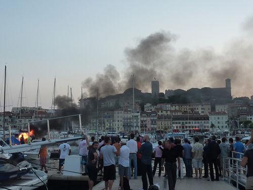 CANNES 2011 : Festival de Cannes ... after party at the harbour