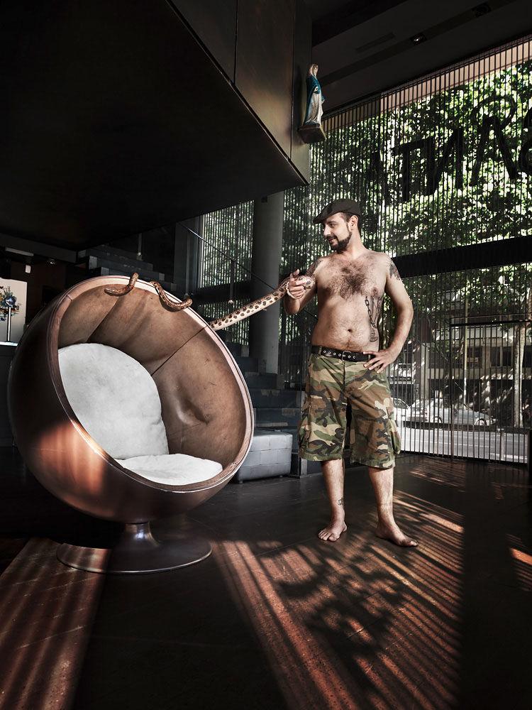 ANKE LUCKMANN : BCN People - Paco Guzman