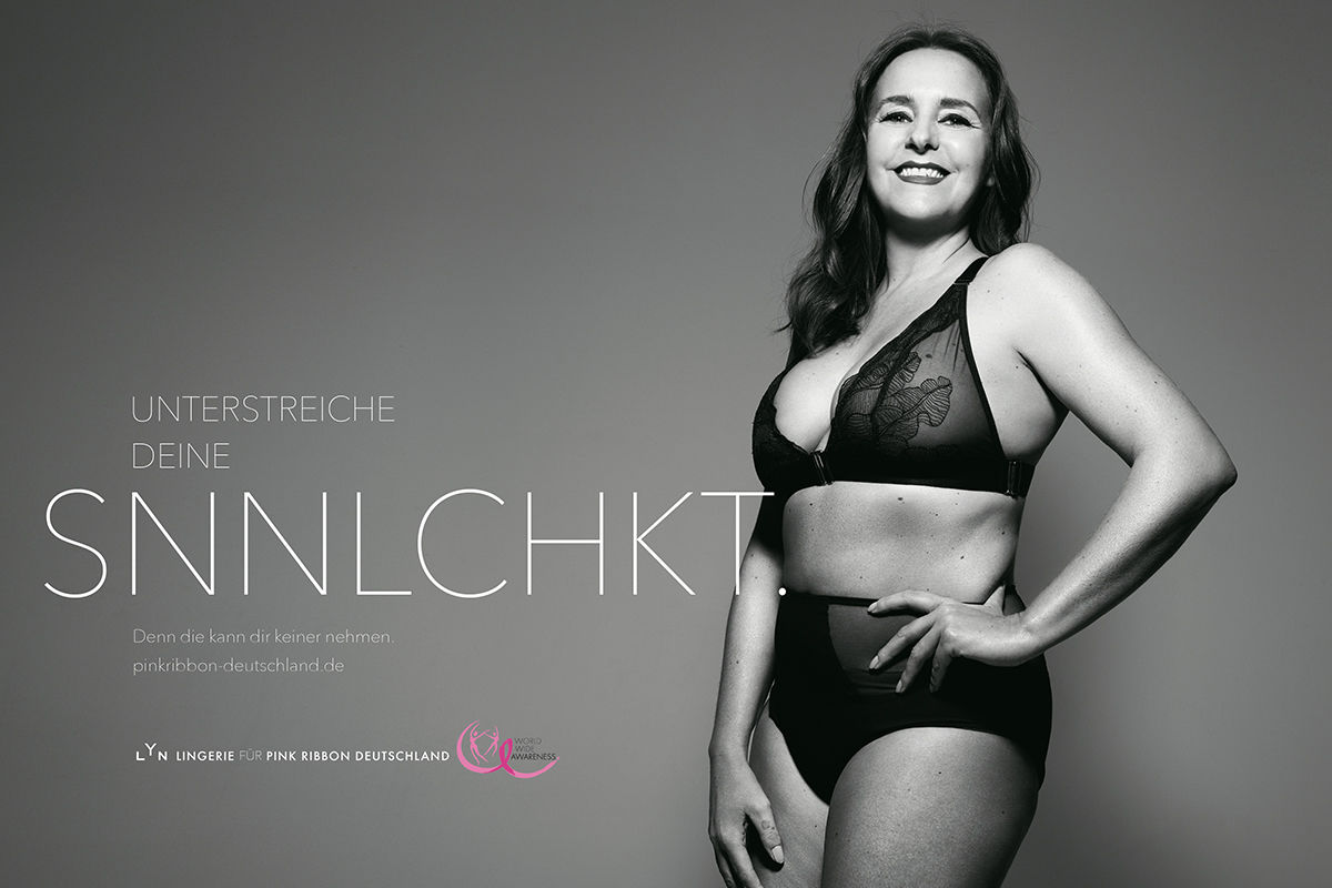 RANKIN for Pink Ribbon Germany