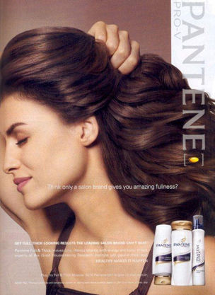 MUNICH MODELS : DANIELA Urzi for PANTENE