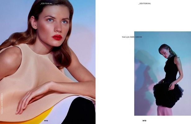 LIGANORD ARTISTS TU ANH NGO / STYLING & STEFFANIE KROLL / HAIR MAKE-UP - _EDITORIAL MAGAZINE