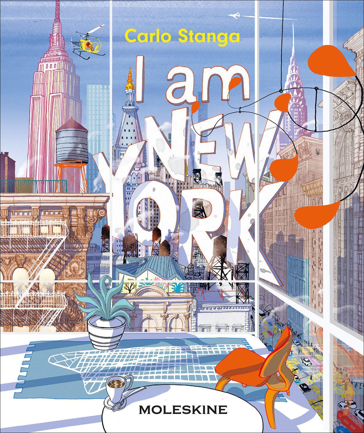 'I AM NEW YORK' by Carlo Stanga c/o 2AGENTEN (MOLESKINE, PICTURE BOOK)