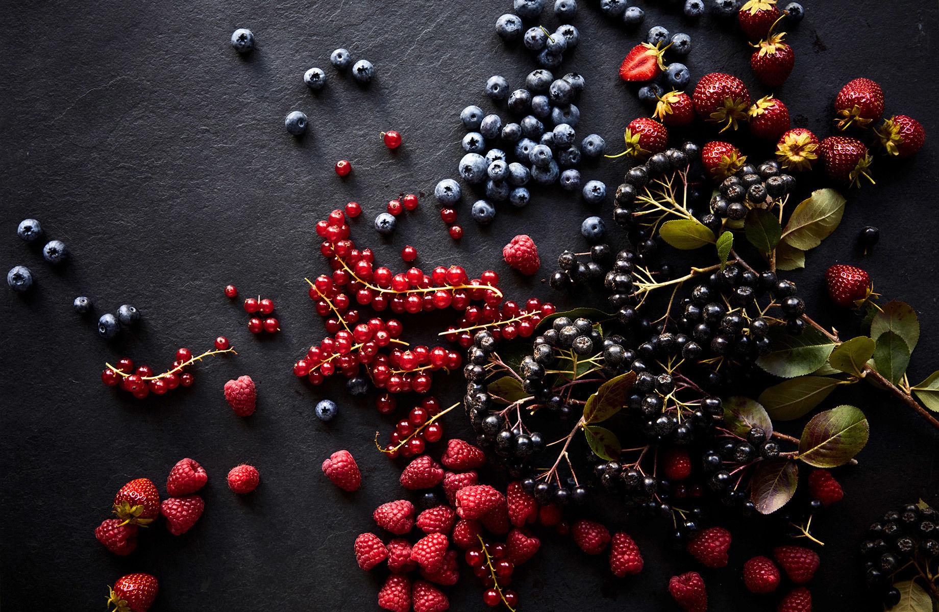 DOUBLE T PHOTOGRAPHERS: Marie-Therese Cramer - Salon Magazin: Perfekt – Superberries