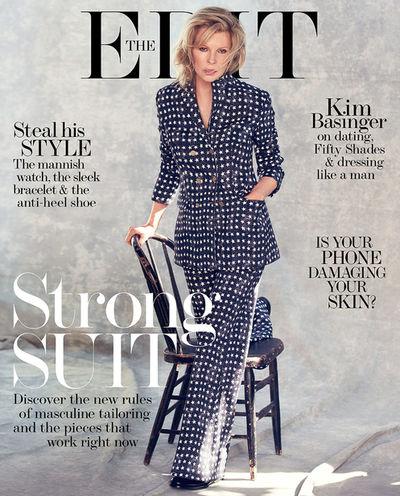 The Edit Cover Kim Basinger
