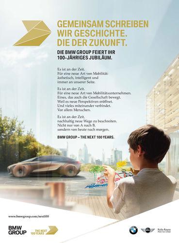 RECOM CGI : BMW - 100 year manifest