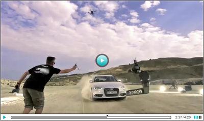 FRANK KAYSER : Makin´of Audi Land of Quattro Campain 2013