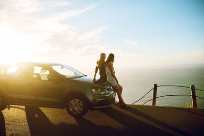 "SEVERIN WENDELER: Photography by Maximilian Motel c/o Severin Wendeler ""VW Polo - Girls trip"""