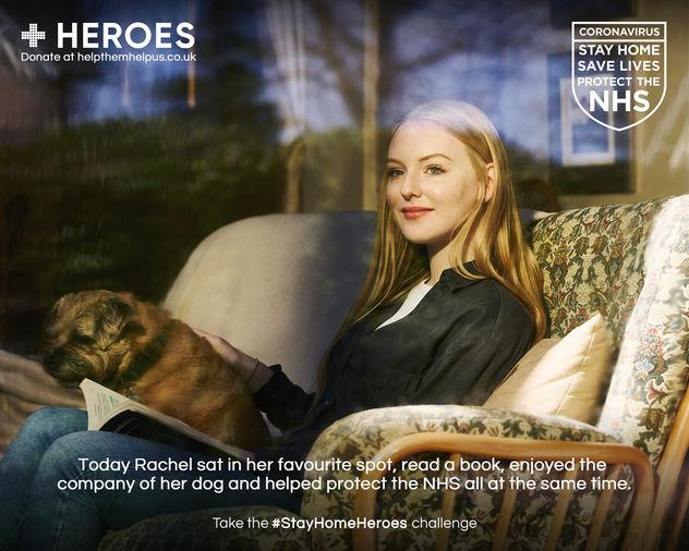 SEVERIN WENDELER: #stayhomeHEROES campaign photos by Alex Telfer c/o Severin Wendeler