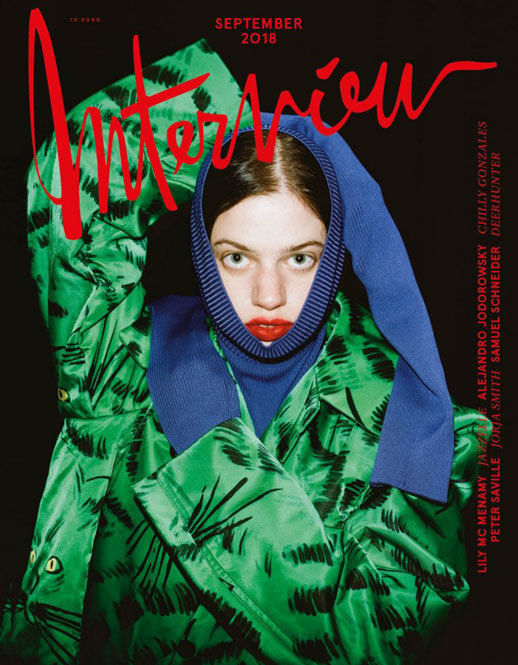 LIGANORD ARTIST HELENA NARRA / MAKE-UP - INTERVIEW MAGAZINE