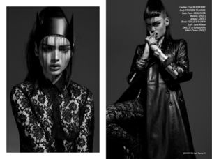 AGENTUR ROUGE :  Tu Anh NGO for INSTITUTE Magazine