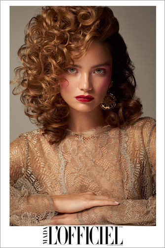 ANSCHI URBAS / HAIR MAKE-UP - L´OFFICIEL LATVIA
