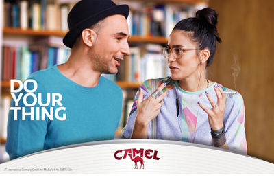 "Cem GUENES c/oTOBIAS BOSCH FOTOMANAGEMENT for Camel ""DO YOUR THING"""