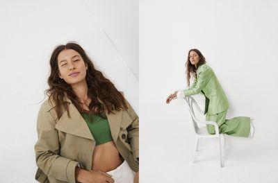 Marlene Kohrs by Frida Marklund c/o LUNDLUND for Elle Sweden