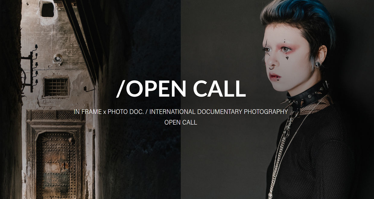 IN FRAME x PHOTO DOC Open Call 2020, Theme : Intimacy, submit a coherent documentary photo series