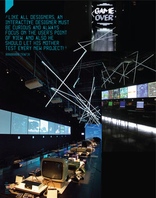 IDN MAGAZINE :  Interactive Design — Perfecting those Air to Surface Missiles