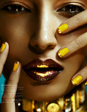 ANIMA CREATIVE MANAGEMENT : Norbert KNIAT for GRAZIA INDIA