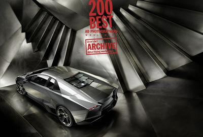 lamborghini cgi awarded by Lürzer´s for 200 best ad photographers 2014/15