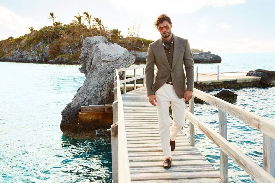 'Smooth Sailing' - Spring Campaign for Bergdorf Goodman by Neil Gavin, featuring model Alex Libby