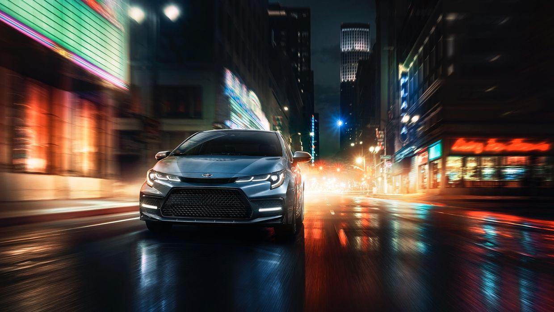 "SEVERIN WENDELER: TRANSPORTATION SPECIAL ""Toyota Corolla Print Campaign"" Photographer by Patrick Curtet c/o Severin Wendeler"