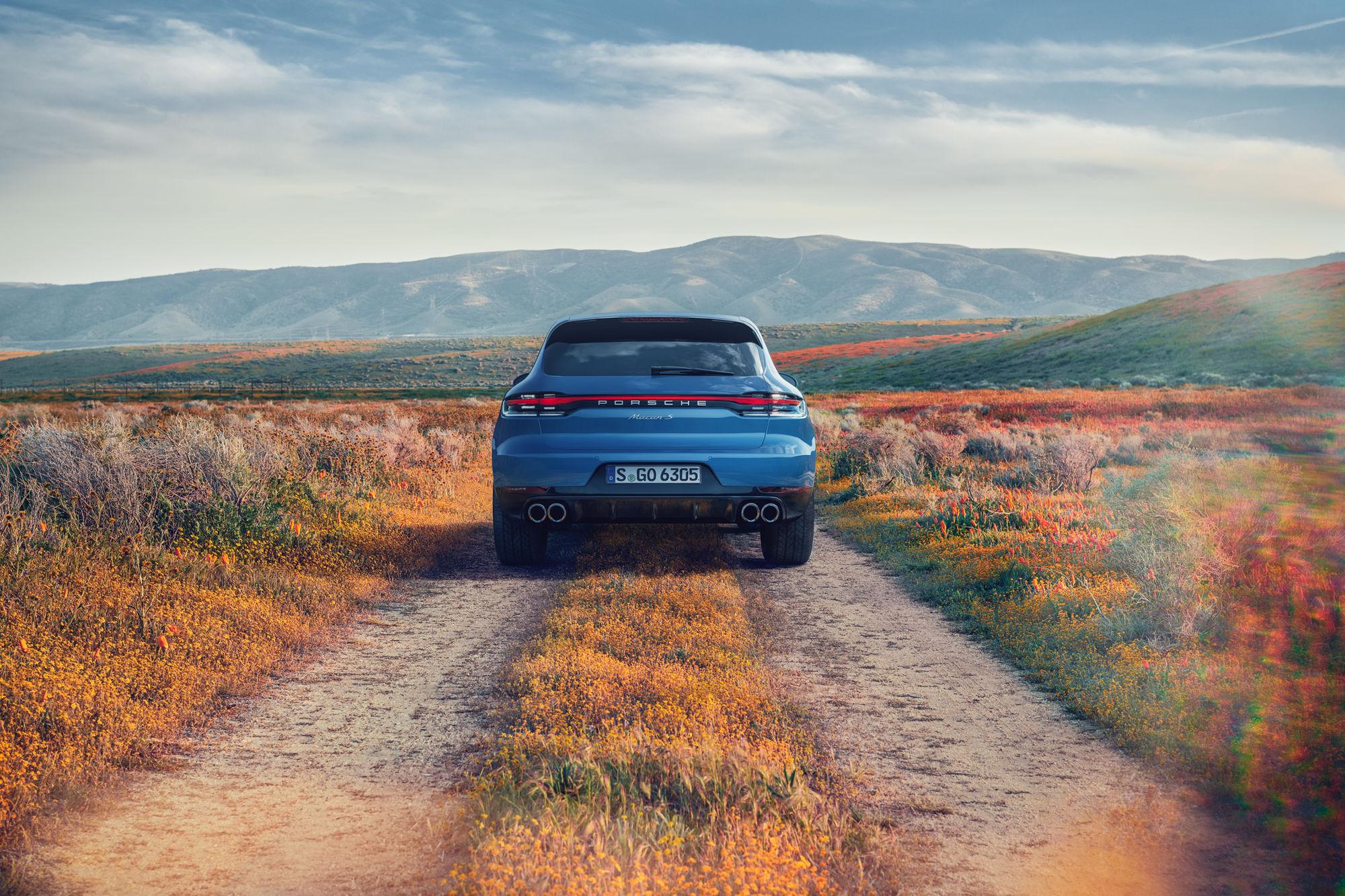 "SEVERIN WENDELER: TRANSPORTATION SPECIAL ""Porsche Macan"" Photo & CGI Project by Lisa Linke c/o Severin Wendeler collaboration with Curve Digital"