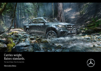 ANKE LUCKMANN for MERCEDES-BENZ X-CLASS
