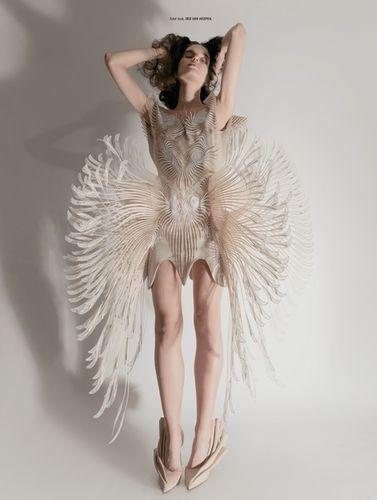 JPPS CREATIVE PRODUCTIONS & IRIS BROSCH for L'OFFICIEL AUSTRALIA 'Couture'