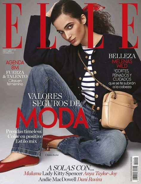 Chiara Scelsi for Elle Spain March 2021 ICONIC