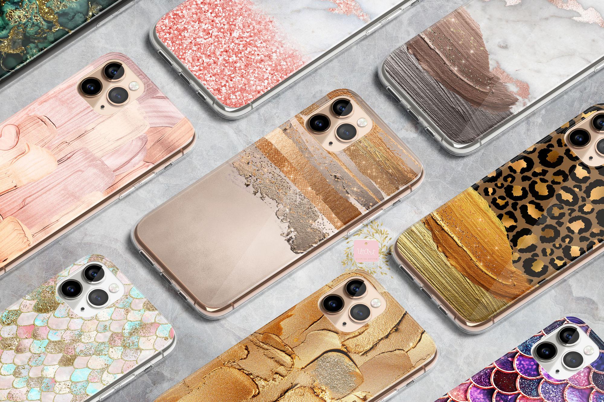 UTART Trend Glamour Feminine Iphone Cases Collection