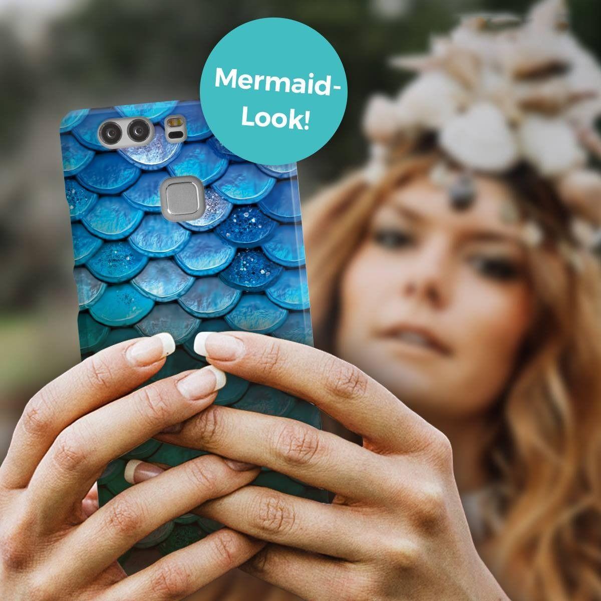 Blue Mermaid Scales Phone Case