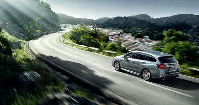 New Subaru Levorg International Artwork