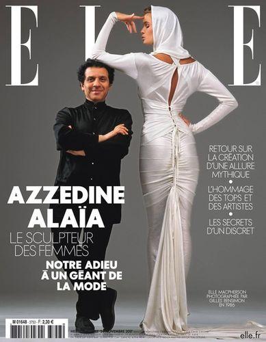Elle Macpherson for ELLE France shot by Gilles Bensimon