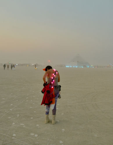 UWE DUETTMANN 'Burning Man' 2017