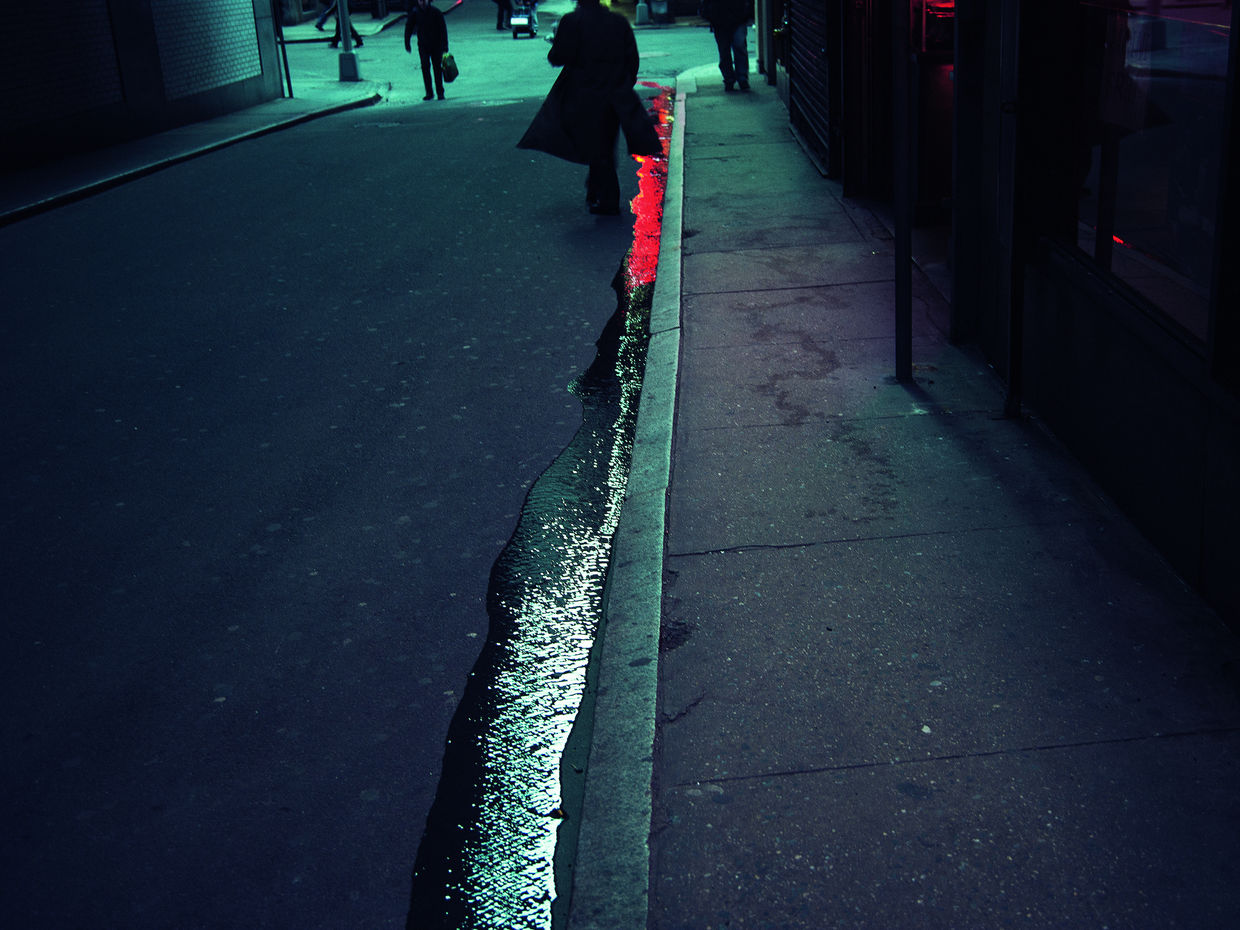 MAGNUM AND STREET PHOTOGRAPHY: Christopher Anderson, Financial District, New York, United States, 2008. Courtesy of Magnums Photos