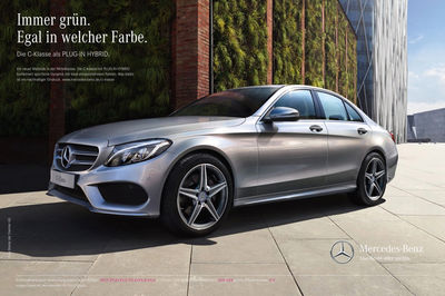 IMAGE NATION S.L. for Mercedes Hybrid Campaign