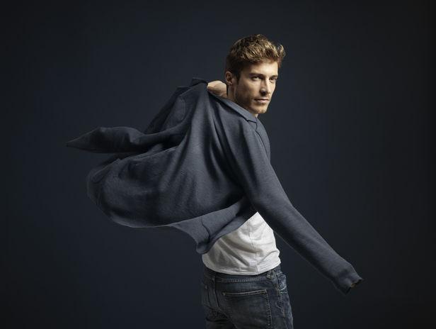 SONJA HEINTSCHEL: Sandro Bäbler for OC Fashion