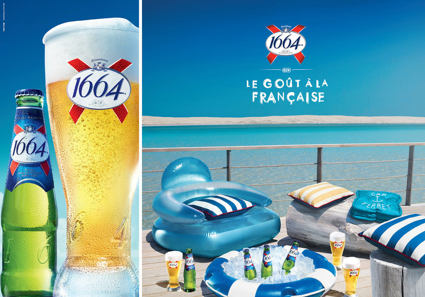 10-4 AFRICA for 1664 Kronenbourg