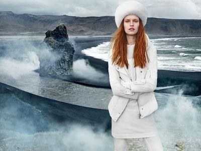 HUNTER & GATTI : Eral North AW15 Campaign with Luisa Bianchin