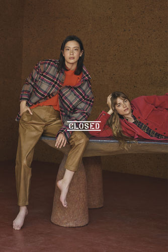 GLAM PRODUCTION produces photoshoot for CLOSED for their TREND campaign.