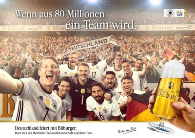 KLAUS STIEGEMEYER : Olaf HEINE for BITBURGER